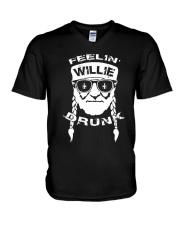 Feeling Willie Drunk St Patrick's Day V-Neck T-Shirt thumbnail