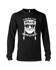 Feeling Willie Drunk St Patrick's Day Long Sleeve Tee thumbnail
