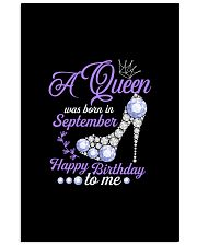 A Queen Was Born In September Happy Birthday to Me 11x17 Poster thumbnail