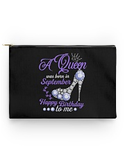 A Queen Was Born In September Happy Birthday to Me Accessory Pouch - Standard thumbnail