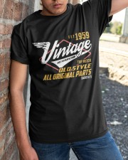 Vintage 1959 Age To Perfection Original Parts Classic T-Shirt apparel-classic-tshirt-lifestyle-27