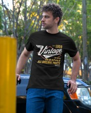 Vintage 1959 Age To Perfection Original Parts Classic T-Shirt apparel-classic-tshirt-lifestyle-front-44