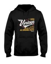 Vintage 1959 Age To Perfection Original Parts Hooded Sweatshirt thumbnail