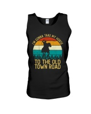 I Am Gonna Take My Horse To The Old Town Road  Unisex Tank thumbnail