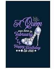 A Queen Was Born In February  Happy Birthday  11x17 Poster thumbnail