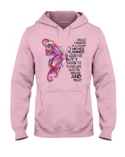 Breast Cancer Is A Journey I Never Planned  Hooded Sweatshirt thumbnail