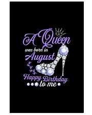 A Queen Was Born In August Happy Birthday  11x17 Poster thumbnail