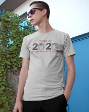 The Year When Shit Got Real Class Of 2020 Gift Classic T-Shirt apparel-classic-tshirt-lifestyle-17