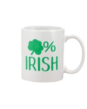 Lucky Irish Green Shamrock St Patrick's Day  Mug tile