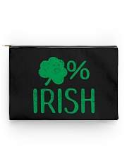Lucky Irish Green Shamrock St Patrick's Day  Accessory Pouch tile