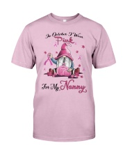 In October I Wear Pink For My Nanny Classic T-Shirt thumbnail