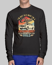 Classic Car - 57 Years Old Matching Birthday Tee  Long Sleeve Tee lifestyle-unisex-longsleeve-front-1