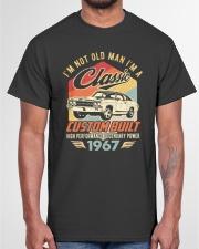 Classic Car - 53 Years Old Matching Birthday Tee  Classic T-Shirt garment-tshirt-unisex-front-03