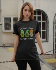 Just Hanging With My Gnomies Irish Green Shamrock  Classic T-Shirt apparel-classic-tshirt-lifestyle-19