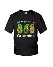 Just Hanging With My Gnomies Irish Green Shamrock  Youth T-Shirt thumbnail