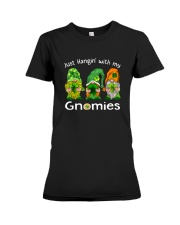 Just Hanging With My Gnomies Irish Green Shamrock  Premium Fit Ladies Tee thumbnail