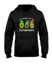Just Hanging With My Gnomies Irish Green Shamrock  Hooded Sweatshirt thumbnail