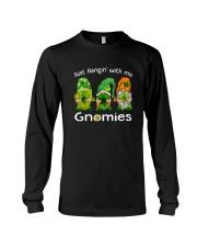 Just Hanging With My Gnomies Irish Green Shamrock  Long Sleeve Tee thumbnail