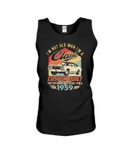 Classic Car - 61 Years Old Matching Birthday Tee  Unisex Tank thumbnail