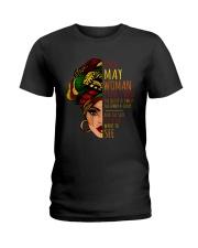 I'm A May Woman I Have 3 Sides Cute Birthday Gift Ladies T-Shirt thumbnail