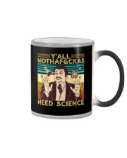 Y'all Motha-Fckas Need Science Lover Scientist Color Changing Mug tile
