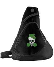 Funny Skeleton Skull Shamrock St Patrick's Day  Sling Pack thumbnail
