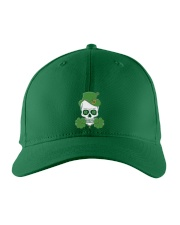Funny Skeleton Skull Shamrock St Patrick's Day  Embroidered Hat thumbnail