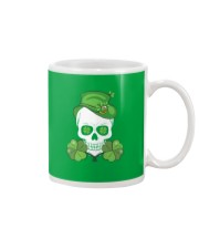 Funny Skeleton Skull Shamrock St Patrick's Day  Mug thumbnail