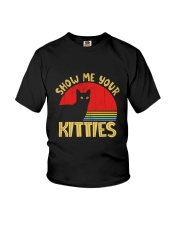 Show Me Your Kitties Cat Lover Youth T-Shirt thumbnail