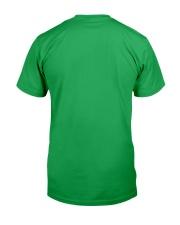 Baseball Leprechaun Irish Shamrock St Patrick's D Classic T-Shirt back