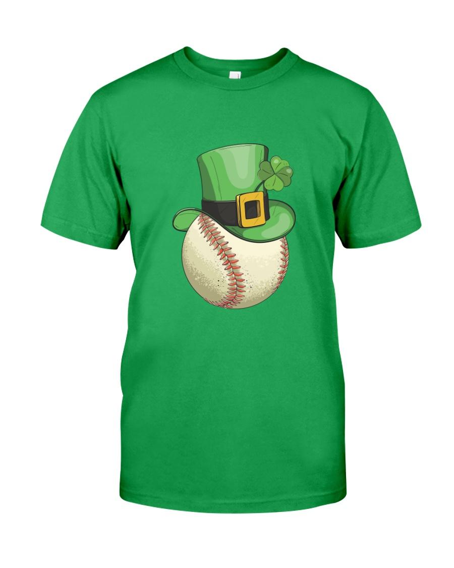 Baseball Leprechaun Irish Shamrock St Patrick's D Classic T-Shirt