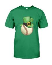 Baseball Leprechaun Irish Shamrock St Patrick's D Premium Fit Mens Tee thumbnail