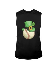 Baseball Leprechaun Irish Shamrock St Patrick's D Sleeveless Tee thumbnail