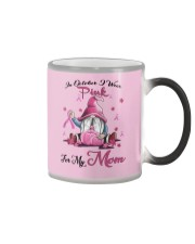 In October I Wear Pink For My Mom Color Changing Mug thumbnail