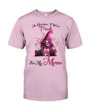 In October I Wear Pink For My Mom Gnome Breast  Classic T-Shirt thumbnail