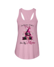 In October I Wear Pink For My Mom Gnome Breast  Ladies Flowy Tank thumbnail