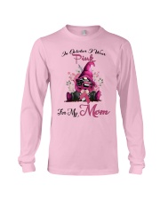 In October I Wear Pink For My Mom Gnome Breast  Long Sleeve Tee thumbnail