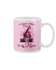 In October I Wear Pink For My Mom Gnome Breast  Mug thumbnail