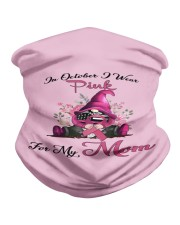 In October I Wear Pink For My Mom Gnome Breast  Neck Gaiter thumbnail