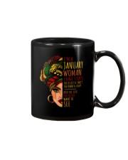 I'm A January Woman I Have 3 Sides Birthday Gift Mug thumbnail