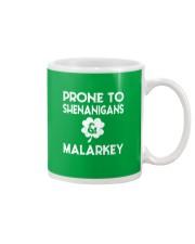 Vintage Prone To Shenanigans And Malarkey  Mug thumbnail