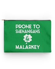 Vintage Prone To Shenanigans And Malarkey  Accessory Pouch - Standard back