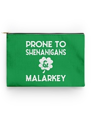 Vintage Prone To Shenanigans And Malarkey  Accessory Pouch - Standard front