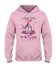 In October I Wear Pink For My Gigi Hooded Sweatshirt thumbnail