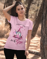 In October I Wear Pink For My Gigi Ladies T-Shirt apparel-ladies-t-shirt-lifestyle-06