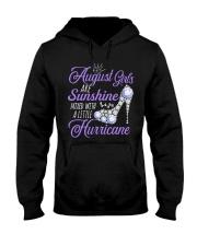 August Girls Are Sunshine Mixed With Hurricane Hooded Sweatshirt thumbnail