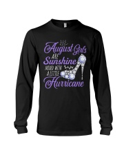 August Girls Are Sunshine Mixed With Hurricane Long Sleeve Tee thumbnail