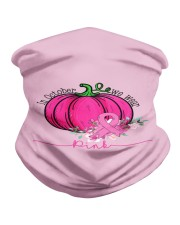 In October We Wear Pink Pumpkin Ribbon Breast Neck Gaiter thumbnail