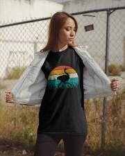 Vintage Ostrich - Funny Retro Bird Costume Classic T-Shirt apparel-classic-tshirt-lifestyle-07