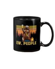 Ew People - Funny Bear Drinking Beer Camping Mug thumbnail